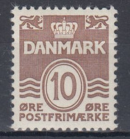 ++M1530. Denmark 1937. AFA 235a. Michel 233. MNH(**). - Unused Stamps