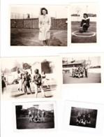 Lot De 52 Photos Du Basket Ball Club De HERSTAL / Liège (une Est Datée De 1944) Messieurs Et Dames  (B247) - Sports