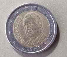 2001 - SPAGNA  - MONETA IN EURO - DEL VALORE DI 2,00  EURO - USATA - Spanien