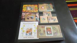 DM341 LOT FEUILLES LADY DIANA NEUFS MNH  A TRIER COTE++ DÉPART 10€ - Verzamelingen (in Albums)