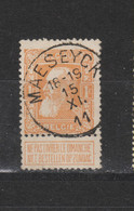 COB 79a Centraal Gestempeld Oblitération Centrale MAESEYCK Type T2R - 1905 Thick Beard