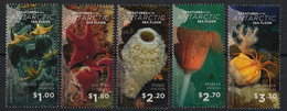 Ross - 2016 - N°Yv. 156 à 160 - Vie Marine - Complete Set - Neuf Luxe ** / MNH / Postfrisch - Unused Stamps