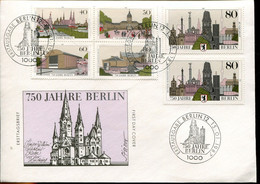 Germany Special FD Cover - 750th City Jubilee Berlin - Altri