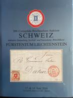 """Catalogue Corinphila Auktionen. 209 SCHWEIZ Inklusive Sammlung """"Seebub"""" And Sammlung """"Rüschlikon"""" Fürstentum Liechtenste - Catalogues For Auction Houses"""