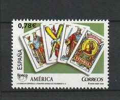 Spain Espagne España,2009, UPAEP, Playing Cards 1v, **, Nr. Michel: ? - Ohne Zuordnung