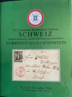 """Catalogue Corinphila Auktionen. 212 SCHWEIZ Inklusive Sammlung """"Seebub"""" And Sammlung """"Rüschlikon"""" Fürstentum Liechtenste - Catalogues For Auction Houses"""