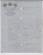 Tannay (Nièvre) - A. Guédant / Vins Blancs Et Spiritueux (1881) - 1800 – 1899