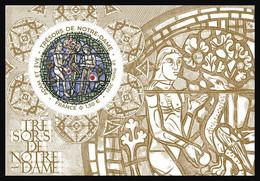 France 2021 - Trésors De Notre-Dame – Adam Et Ève ** - Ungebraucht