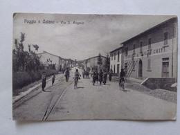 1910  POGGIO A CAIANO   VIA SANT'ANGELO     ANIMATA - Prato