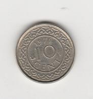 SURINAME - 10 CENTS 1976 - Surinam 1975 - ...