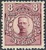 ZWEDEN 1911-14 8õre Violet Gustav  V Zonder WM PF-MNH-NEUF - Unused Stamps