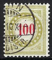 SUISSE Taxe:  Le ZNr. 28B IIN, Obl. CAD - Segnatasse
