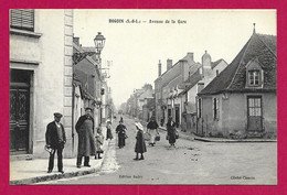 CPA Digoin - Avenue De La Gare - Digoin