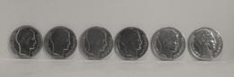 Réf 621622 - LOT N° 3 De 6 Pieces - 10 Francs Argent - 1929 - 1930 - 1931 - 1932 - 1933 - 1934 - La Semeuse - P. TURIN - K. 10 Franchi