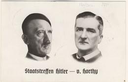 HITLER Ist HORTHY 2* World War - TimbrI Commemorativi Di Berlin 20/08 - Kiel 22/08 - Nurnberg 11/09/1938  (2 Images) - Guerre 1939-45