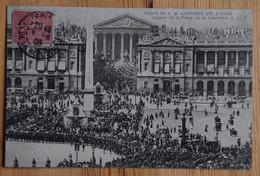 Paris - Visite De S. M. Alphonse XIII - Roi D'Espagne - Aspect De La Place De La Concorde - Animée - (n°20361) - District 08