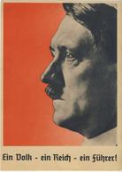 HITLER - 2* World War - Franked Propaganda Leaflet - Frankierte Propaganda-Broschüre - Innsbruck 10/04/1938  (2 Images) - Guerra 1939-45
