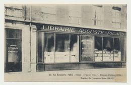 Librairie Auguste Picard (expéditeur) - 82 Rue Bonaparte - Magasin Boutique (destinataire LILLE Libraire RAOUST) -métier - Arrondissement: 06