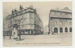 Librairie FLAMMARION - Galerie De L'Odéon (expéditeur) - 4 Rue Rotrou -  (destinataire LILLE Libraire RAOUST) - Métier - Arrondissement: 06