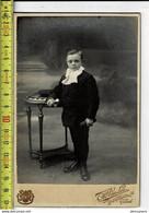 006 - VIEILLE PHOTO - COMMUNION GARCON - OUDE FOTO COMMUNIE JONGEN - PHOTOGRAPHIE VANLOO GAND - Old (before 1900)