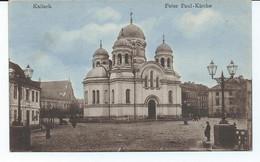 Feldpost  Kalisch / Kalisz   Peter Paul-Kirche - Polonia