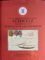 """Catalogue Corinphila Auktionen. 216 SCHWEIZ Inklusive Sammlung """"Seebub"""" Fürstentum LIECHTENSTEIN - Catalogues For Auction Houses"""