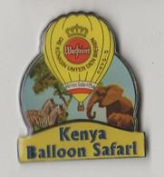 Pin's Montgolfière WARSTEINER KENYA  Balloon Safari. - Mongolfiere