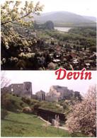Hrad Devin. Pohl'ad Z Devinskej Kobyly. Stredny A Horny Hrad Zo Severozapadnej Strany. Castle. Château. - Slovacchia
