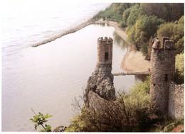 """Devin. Sutok Dunaja A Moravy S Renesancnymi Vezickami (v Popredi - Vezicka """"Mniska""""). Castle. Château. - Slovacchia"""