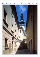 Bratislava. Michalska Veza. Michael's Tower. Michaeler Turm. Tour Saint-Michel. - Slovacchia