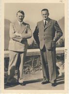 HITLER E Konrad Henlein A Obersalzberg - 2* World War - Timbro Commemorativo Del 21/09/1938 (2 Images) - Guerra 1939-45
