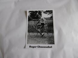 Cyclisme - Carte Roger Chaussabel - Radsport