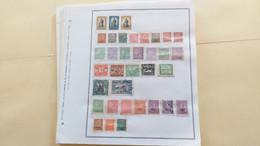 Lot N° TH 453 AMERIQUES DU SUD  Neufs Ou Obl.sur Page D'albums - Sammlungen (im Alben)