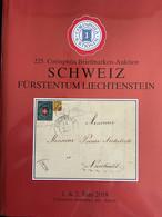 Catalogue Corinphila Auktionen. 225 SCHWEIZ FÜRSTENTUM LIECHTENSTEIN - Catalogues For Auction Houses