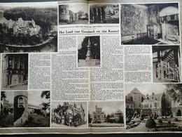 HET LAND VAN GAASBEEK EN ZIJN KASTEEL..1935.. - Ohne Zuordnung
