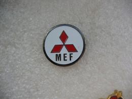 Pin's  MEF: Mitsubishi Motors Logo - Mitsubishi