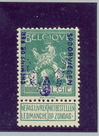 TR48 ** MNH Postgaaf  Zonder Waarborg  GEVLEUGELD WIEL - 1915-1921