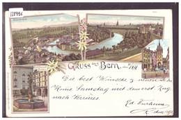 GRUSS AUS BERN - LITHO - TB - BE Berne