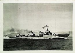 ►  Bateau Navire Marine De Guerre - Torpilleur FOUDROYANT Ex FLEURET   -   Cpsm Collection Lescuyer  Heliogravure - Guerra