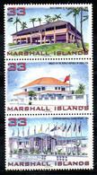 MARSHALL. N°1019-21 De 1998. Bâtiments. - Marshall Islands