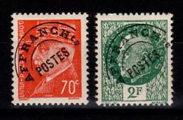 Preobliteres - YV 84 & 86 N* Marechal Cote 4,50 Euros ,serie Incomplete - 1893-1947