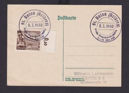 Ostmark St. Anton Österreich Deutsches Reich Drittes Reich Karte Sport  - Zonder Classificatie