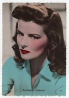 Katharine Hepburn Actress Real Photo Vintage Postcard - Acteurs
