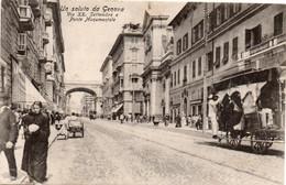 GENOVA - UN SALUTO - VIA XX SETTEMBRE......... - VIAGGIATA - Genova (Genoa)