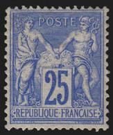 N°78, Sage 25c Outremer, Type II, Neuf * Avec Légère Trace De Charnière - TB - 1876-1898 Sage (Type II)