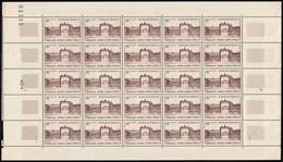 N°939 Feuille Entière, Château De Versailles 1952, Neufs ** Sans Charnière - Full Sheets