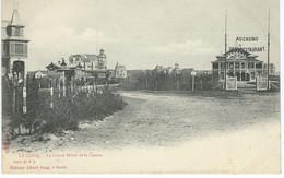COQ-SUR-MER - DE HAAN : Le Grand Hôtel Et Le Casino - TRES RARE CPA - De Haan