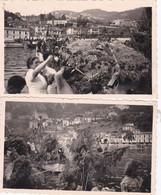 06 VILLEFRANCHE SUR MER 3 PHOTOS 1947 - Villefranche-sur-Mer
