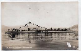 REGIA MARINA ITALIANA - SOTTOMARINO - NON VIAGGIATA - Warships