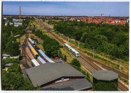 Regio-Shuttle Der Erfurter Bahn EB,am Eisenbahnmuseum Leipzig-Plagwitz, Ungelaufen - Trenes